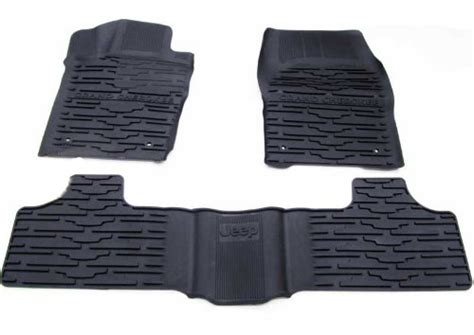 Jeep Grand Slush Mats by All Things Jeep Mopar Front Rear Slush Mats For 2013