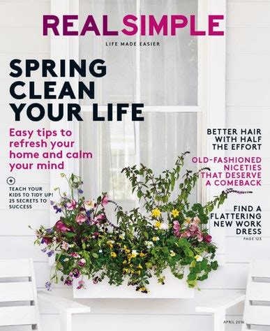 real simple magazine real simple magazine calm down your hectic life