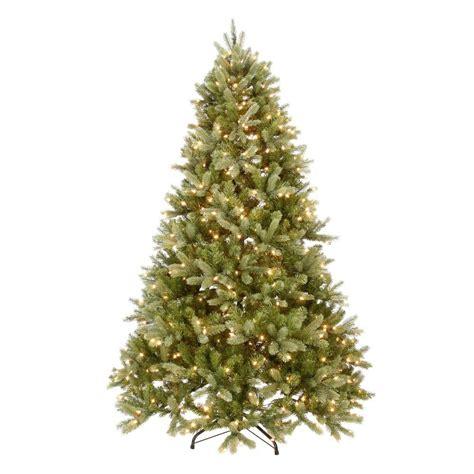 national tree co kingswood 6 5 green fir pencil national tree company 7 5 ft pre lit green douglas fir
