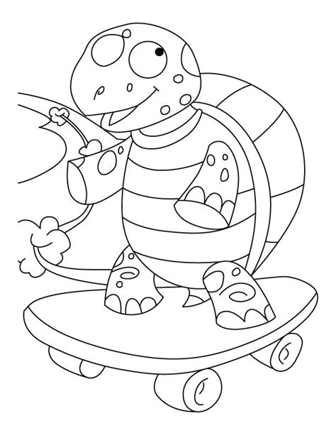 desert turtle coloring page free coloring pages of desert tortoise