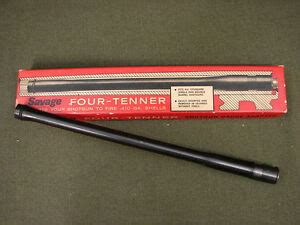 savage four tenner shotgun gauge adapter in original box