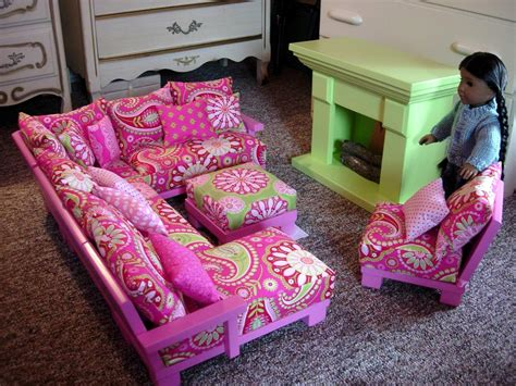 how to make a american girl doll couch woodwork doll furniture for 18 inch dolls pdf plans