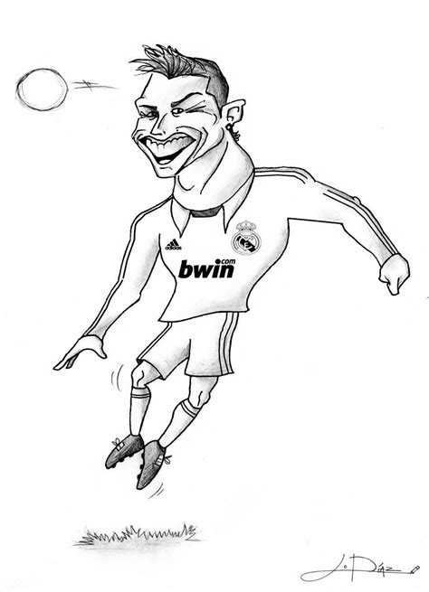 coloring pages ronaldo football ronaldo coloring pages