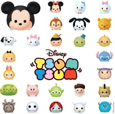 Tsum tsum products by license