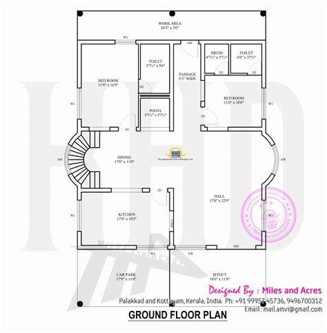 kerala home design floor plan contemporary house plans kerala home design and floor plans