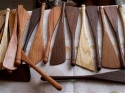 Handmade Kitchen Utensils - handmade kitchen utensils on the lathe spoons spatulas