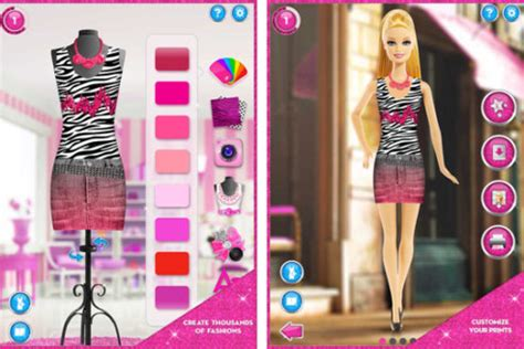 design game fashion barbie fashion designer doll game style jeans
