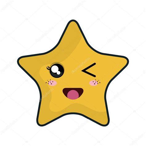 imagenes de estrellas kawaii dibujos animados de estrellas kawaii archivo im 225 genes