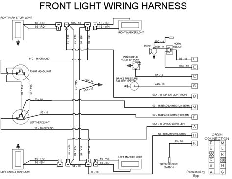 ez wiring 21 circuit harness diagram 1995 ezgo wiring