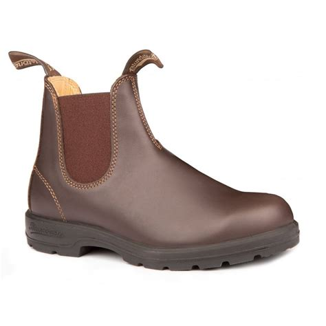 blundstone boots blundstone blundstone 550 chelsea leather walnut brown