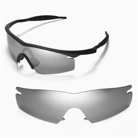 Oakley 6612 M new walleva polarized titanium replacement lenses for