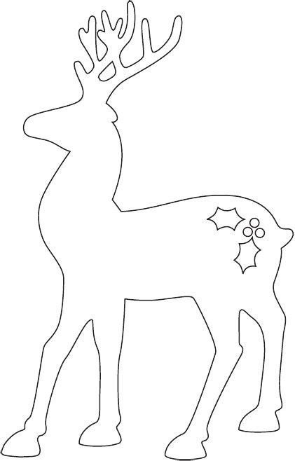 reindeer template to sew how to make a reindeer and santa sleigh part 1 reindeer