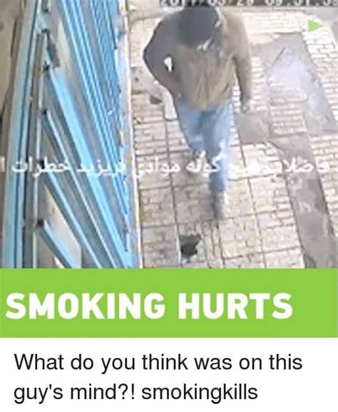 what do you think of a guy that contantly tucks his hair smoking hurts what do you think was on this guy s mind