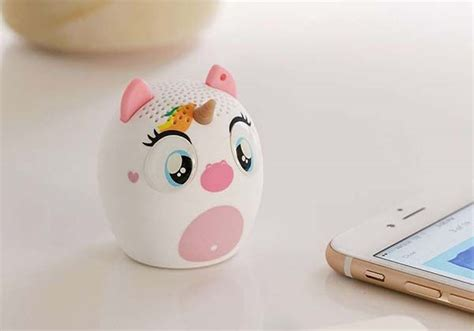cute mini unicorn bluetooth speaker gadgetsin