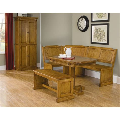 Bench Style Kitchen Table by Kitchen Designs Rustic Style Oak Kitchen Tables Corner