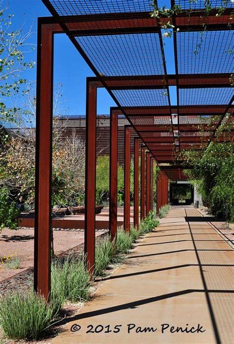 Garage Pergola Designs corten arbors at arizona state university polytechnic