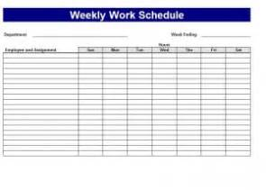 free work schedule maker template work schedule template word excel