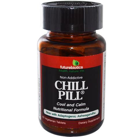 Chill Pills futurebiotics chill pill 60 veggie tabs iherb