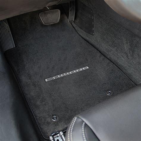 2010 2015 camaro floor mats camaro 2010 2015 velourtex front rear floor mats chevymall