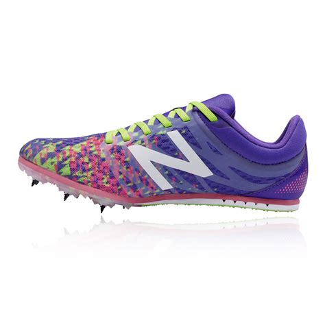 womens purple athletic shoes new balance md500v5 womens purple running track field