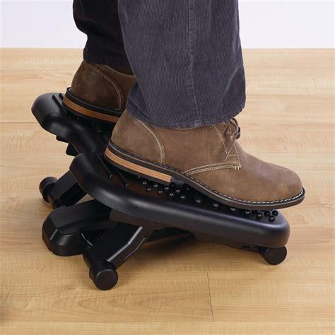 desk rocking footrest amazon com kensington solemassager rocking footrest