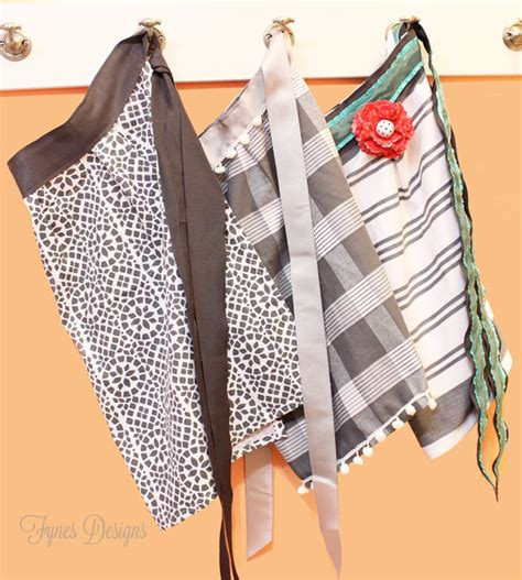pattern for apron with towel 10 minute dish towel apron fynes designs fynes designs