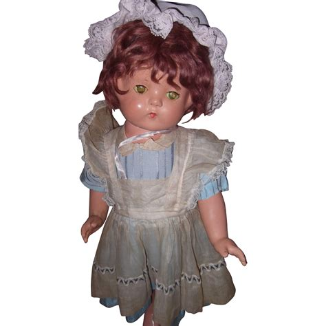 22 composition doll effanbee wigged patsy lou 22 quot composition doll from