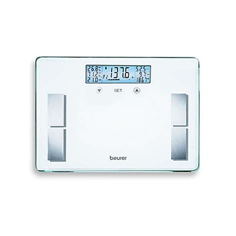 beurer bathroom scale beurer glass body analysis bathroom scale in white bed