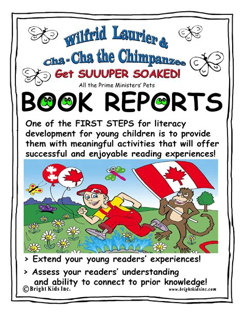 book report title bright book report activities wilfrid laurier and