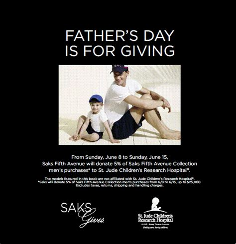 Saks Fifth Avenues One Day Of Savings by Shop Saks Fifth Avenue For S Day And Help Give Back
