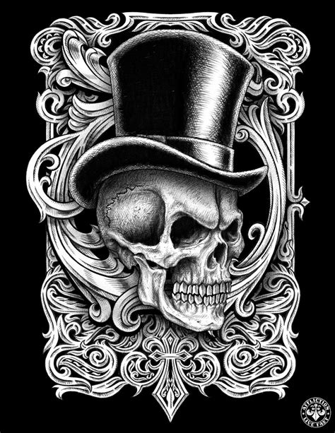 skull with hat tattoo designs skull with tophat search kool tattoos