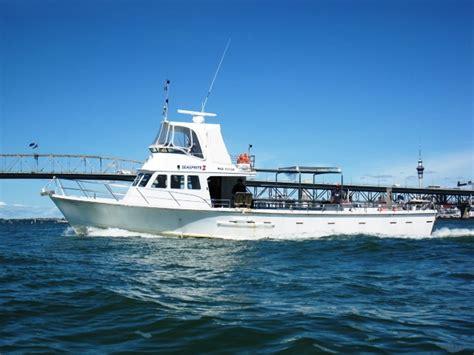 charter fishing boats for sale nz seasprite charter boat 53ft fishing vessel wheel chair
