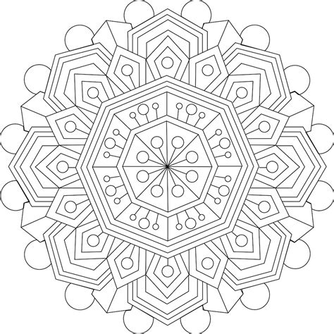calming thoughts coloring page