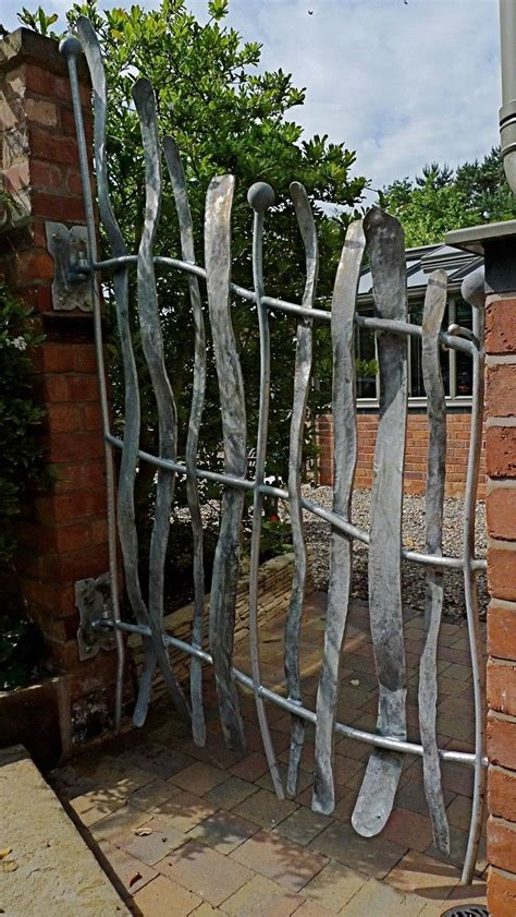 metal backyard gates sculpture and garden art artistic metal furniture and