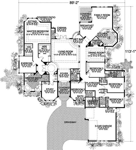 25 best ideas about one level house plans on