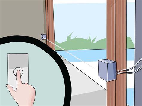 How To Adjust Garage Door Sensors by How To Align Garage Door Sensors 9 Steps With Pictures