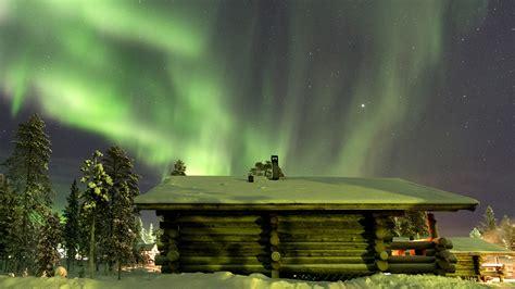 Nature In Lights by Northern Lights In Saariselk 228 Finland Wallpaper