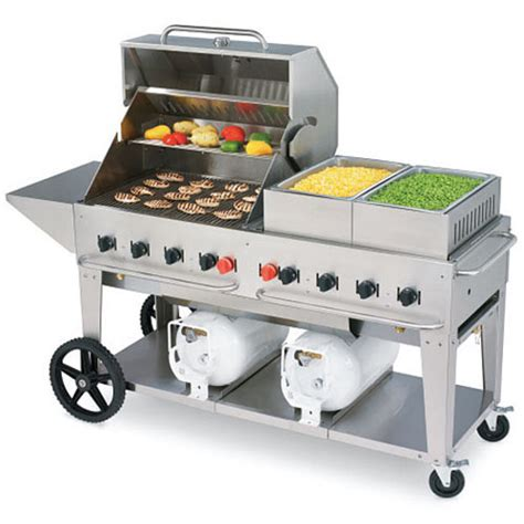 Outdoor Kitchen Equipment by Buy Crown Verity Ccb 60 Lp Club Grill Mobile Outdoor