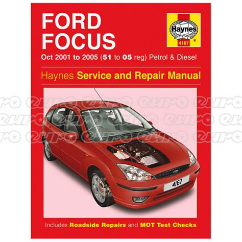 ford focus petrol diesel oct 01 05 51 to 05 haynes publishing haynes workshop manual ford focus petrol diesel oct 01 05 51 to 05 euro car parts