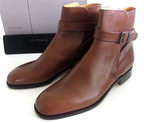 new jm weston 722 jodhpur boots 10 us shoes