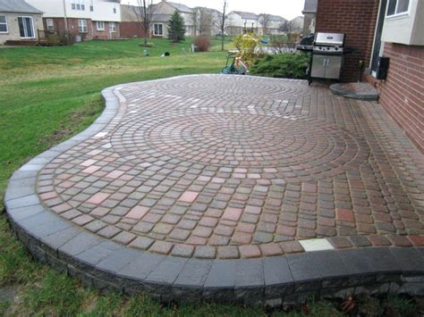 Paver Patio Designs Backyard Stone Patio Designs Of Worthy Patio Designs