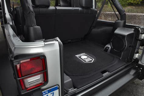 Jeep Wrangler 2 Door Trunk Space Tackiest Jeep