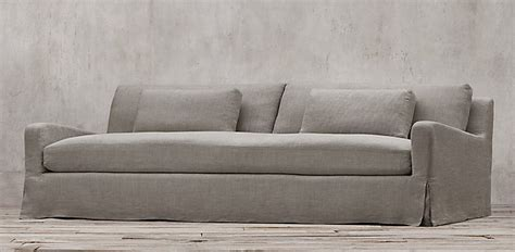 how to clean linen sofa sofas restoration hardware