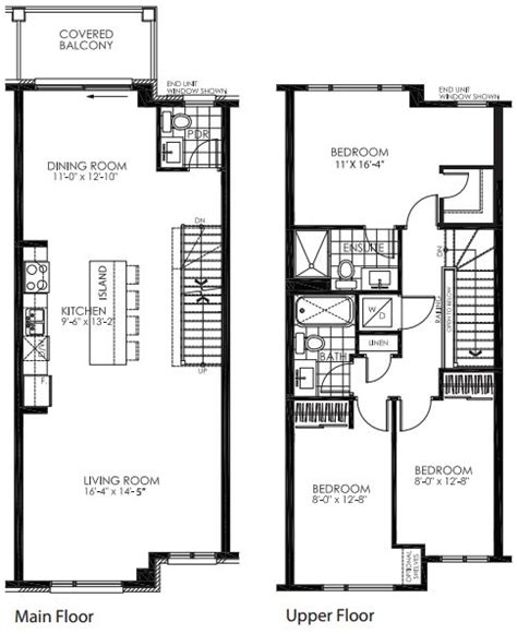 large townhouse floor plans style ing w children new home urban townhome floor