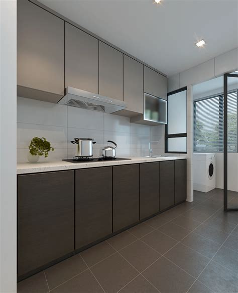 kitchen cabinets singapore renovation guide to layout and configurations for your