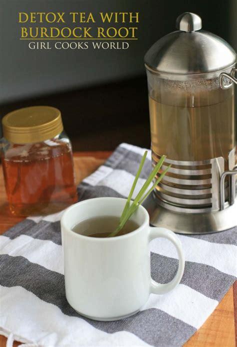 Burdock Root Liver Detox by Liver Detox Tea With Burdock Root Cooks World
