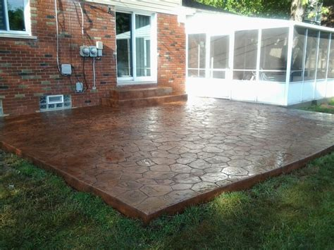 sted concrete patio in bloomfield michigan