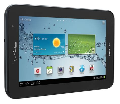 Tablet Samsung Galaxy Tab 7 samsung galaxy tab 2 7 inch tablet arrives on verizon with