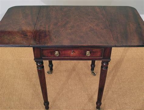 Vintage Sewing Table by Georgian Work Table Antique Work Table Antique Sewing