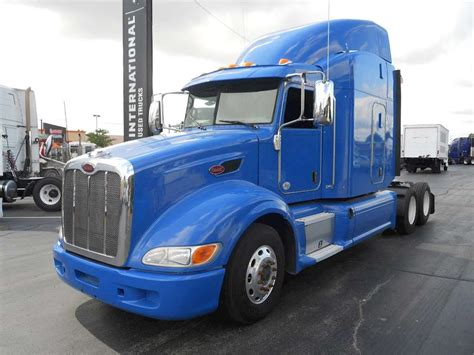 Peterbilt Sleeper by 2013 Peterbilt 386 Sleeper Truck For Sale 451 200